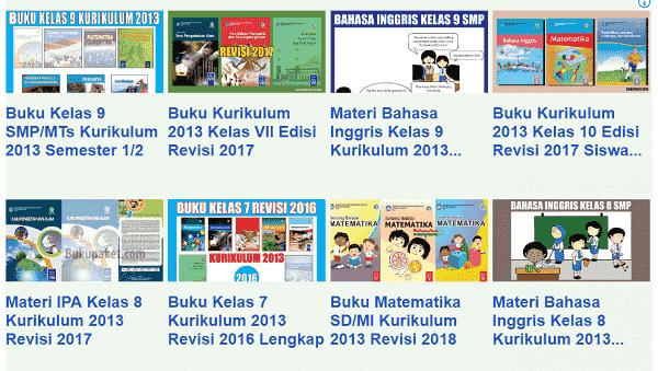 Buku SMP kelas 7-9 Bimbel Edukasi